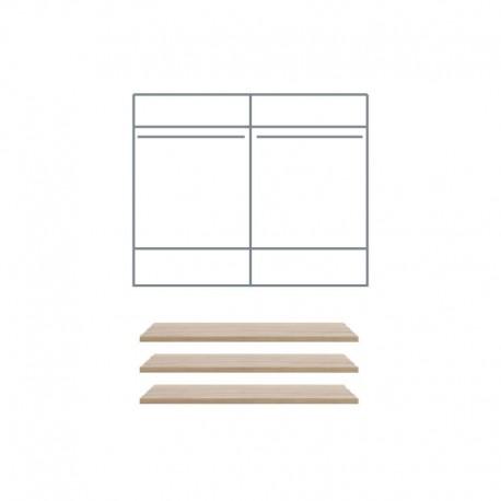 Półki do szafy MARGO 4D