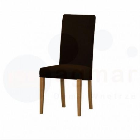 Krzesło PAVO - dąb barwiony na koniak