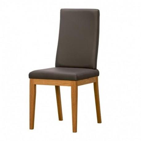 Krzesło VIRGO - dąb barwiony na koniak