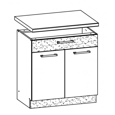 MODENA - szafka dolna MD20/D80S1