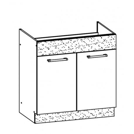 MODENA - szafka dolna MD19/D80Z zlewozmywakowa