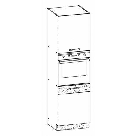 MODENA - szafka dolna MD29/D60P słupek - zabudowa piekarnika