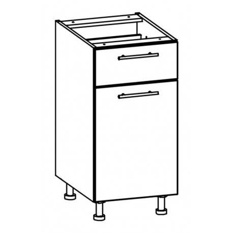 TIFFANY - szafka dolna T16/D40S1