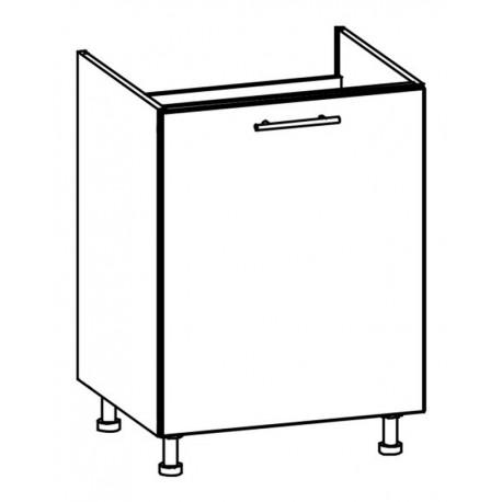 TIFFANY - szafka dolna T23/D60Z zlewozmywakowa