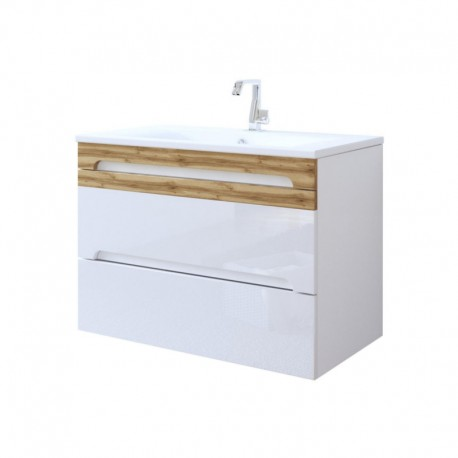 Szafka pod umywalkę GALAXY WHITE 824
