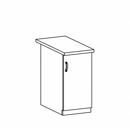 ASPEN - szafka dolna D40 - prawa