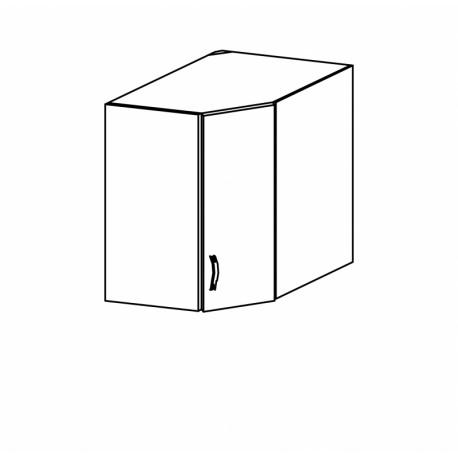 SYCYLIA - szafka górna G60N narożna prawa