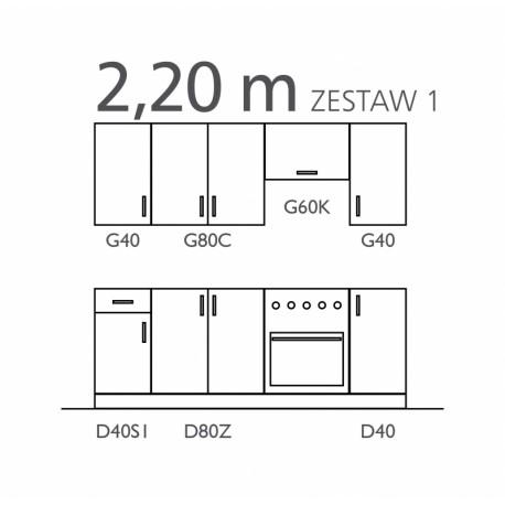 SOFIA - zestaw I 220 cm