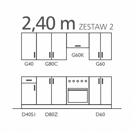 SOFIA - zestaw II 240 cm