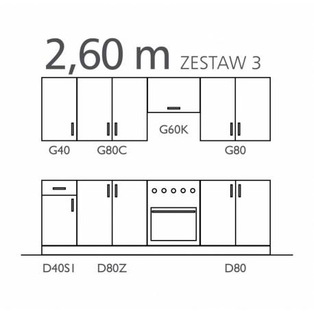 SOFIA - zestaw III 260 cm