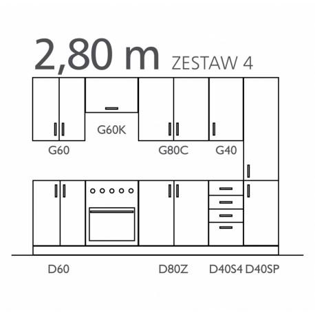 SOFIA - zestaw IV 280 cm