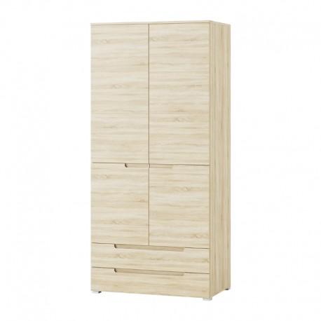 Szafa 2-drzwiowa z 2 szufladami SELENE 28