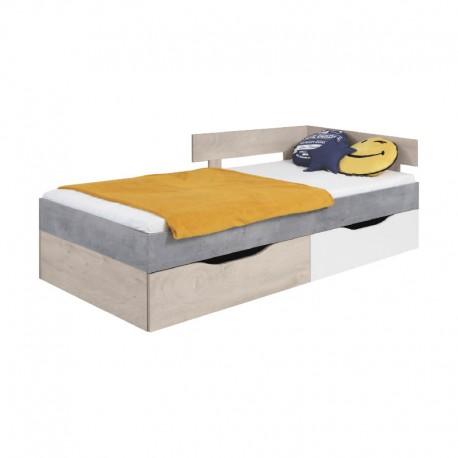 Łóżko 90 SIGMA SI15L/P