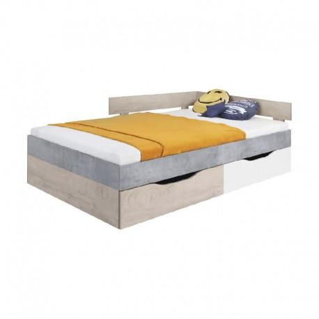Łóżko 120 SIGMA SI16L/P