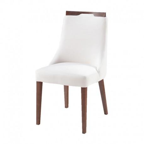 Krzesło ELLEN - dąb barwiony na koniak