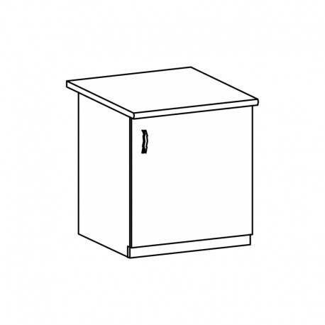 LANGEN - szafka dolna zlewozmywakowa D60Z - lewa