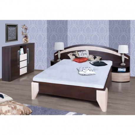 Łóżko DOME DL1-1 z szafkami
