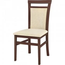 Krzesło tapicerowane Meris 101 - wiśnia malaga