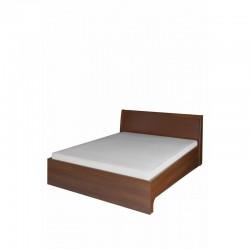 Łóżko 140 Meris 50 - wiśnia malaga