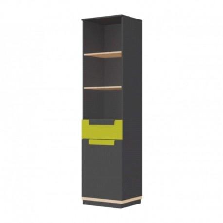 Regał 1-drzwiowy z 1 szufladą WOW 01