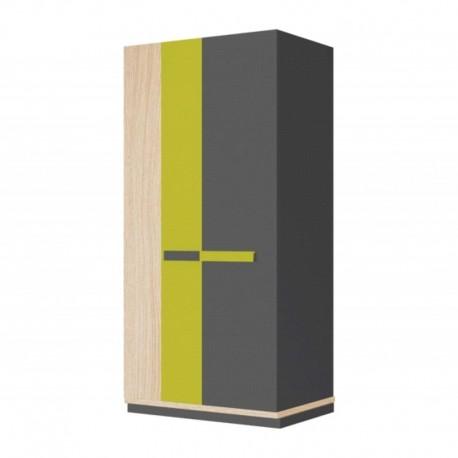 Szafa ubraniowa 2 drzwiowa WOW 04