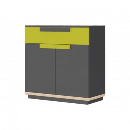 komoda 2 - drzwiowa z 1 szufladą WOW 06